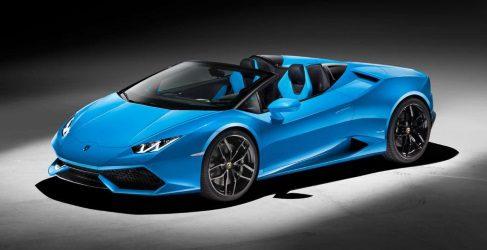 Oficial: Lamborghini Huracán Spyder 2016