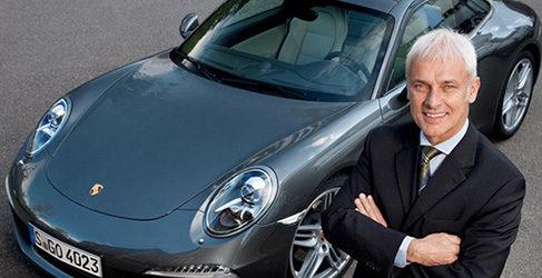 Matthias Müller nuevo CEO de Volkswagen