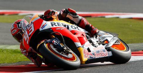 Marc Márquez consigue la pole position arrastrándose