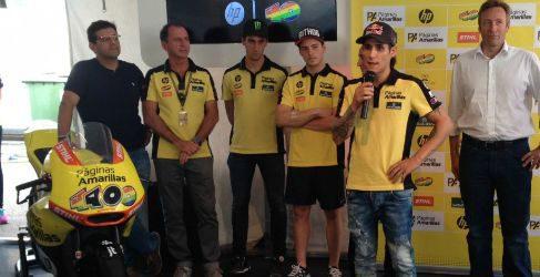 Edgar Pons correrá el mundial junto a su padre