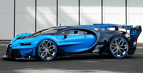 Bugatti Chiron. Un Vision Gran Turismo sin alerones