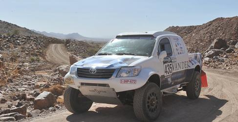 Toyota lideró la etapa 1 en Marruecos