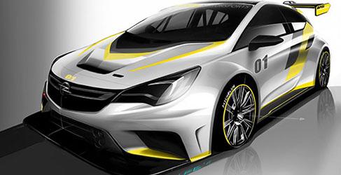 Opel Motorsport mostrará el nuevo Astra TCR este mes