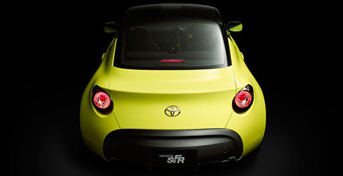 Toyota planea pasar el S-FR concept a producción