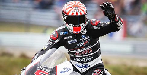 Johann Zarco campeón del mundo de Moto2 2015 2
