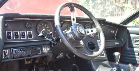 Maserati Bora 4.7 V8 1972, detalles únicos en su interior