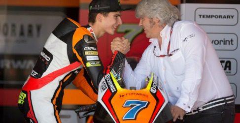 Lorenzo Baldassarri continuará con Forward Racing