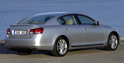 10 años de Lexus Hybrid: 2006 - Lexus GS 450h