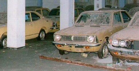 Concesionario Toyota abandonado hace 40 años