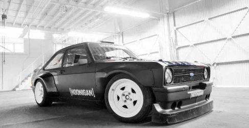 Primer vídeo del nuevo Ford Escort de Ken Block