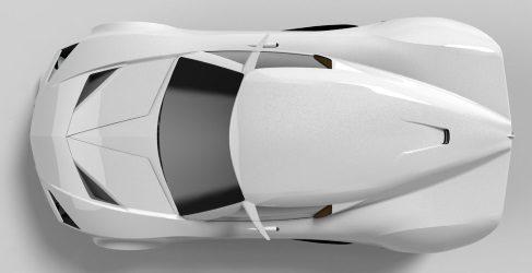 El primer deportivo híbrido fabricado en Carbo-Flax