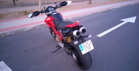 Revisamos la Ducati Hypermotard 1100 de 2007