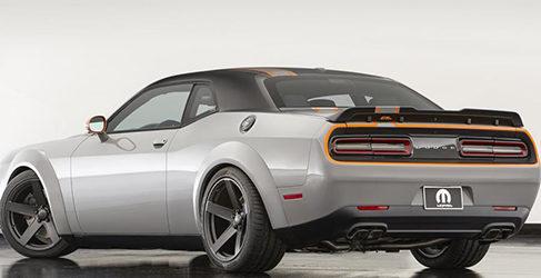 Un Dodge Challenger con tracción a las cuatro ruedas