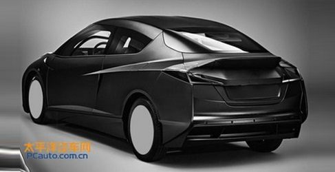 Filtrado misterioso prototipo BMW en la oficina de patentes China
