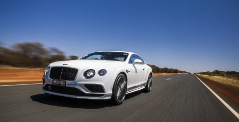 Bentley Continental GT W12 a 331 km/h en vídeo
