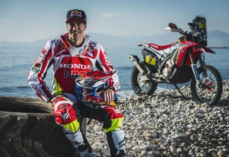 HRC presenta su candidatura al Dakar 2016