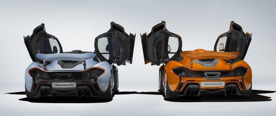 Sale de Woking el último de los 375 McLaren P1 fabricados