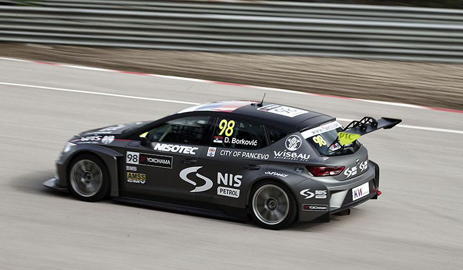 Dusan Borkovic competirá en las TCR Series en 2016