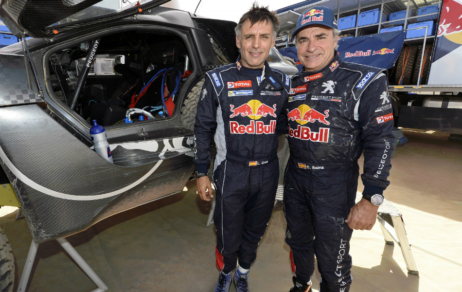 Sainz-Cruz, con mucho optimismo al Dakar 2016.