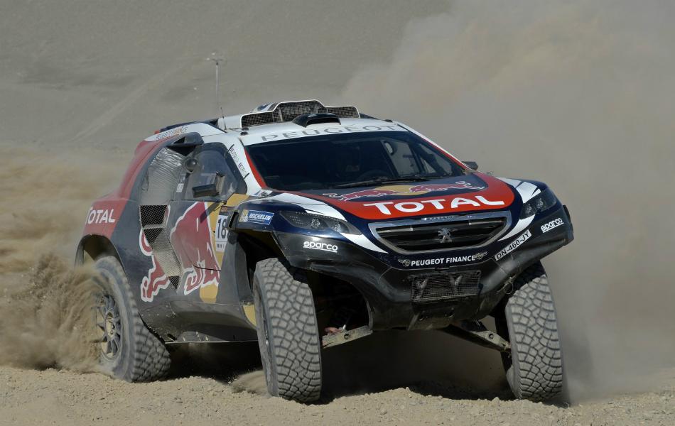 Sainz participó en el Rally de China para probar el 2008.