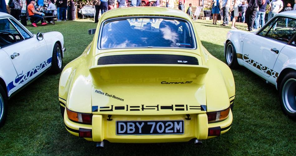 Porsche Classics at the castle 2015: Los clásicos