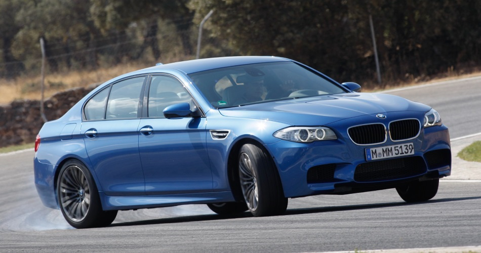 BMW M5 F10 en circuito