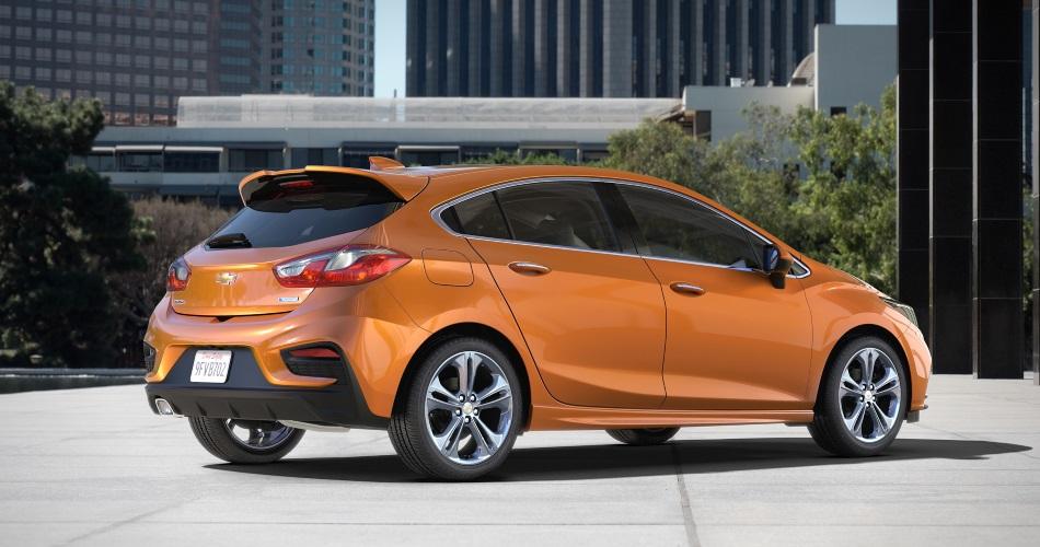 Chevrolet presenta el nuevo Cruze hatchback