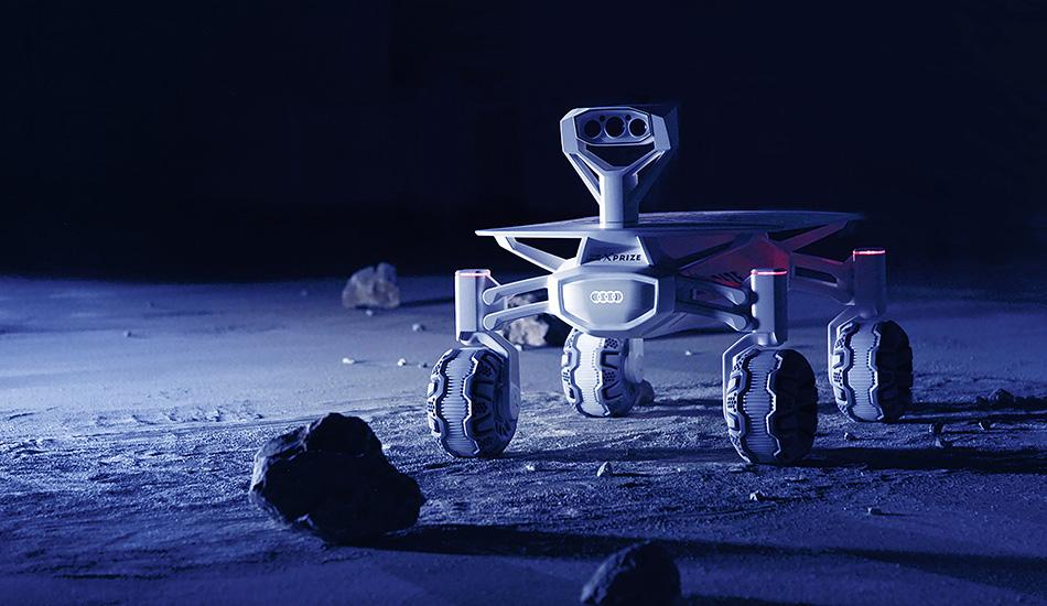 Audi explorará más allá de la Tierra con el lunar quattro