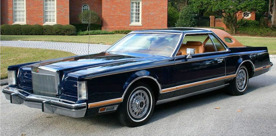 un cl sico muy americano lincoln continental mark v coupe 1978 motor y racing. Black Bedroom Furniture Sets. Home Design Ideas