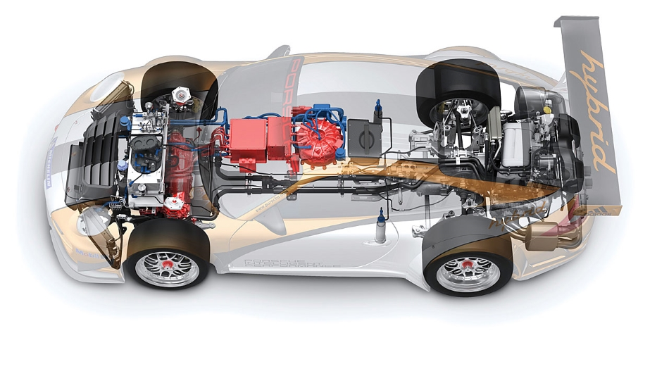 Porsche prepara un 911 Plug-in Hybrid
