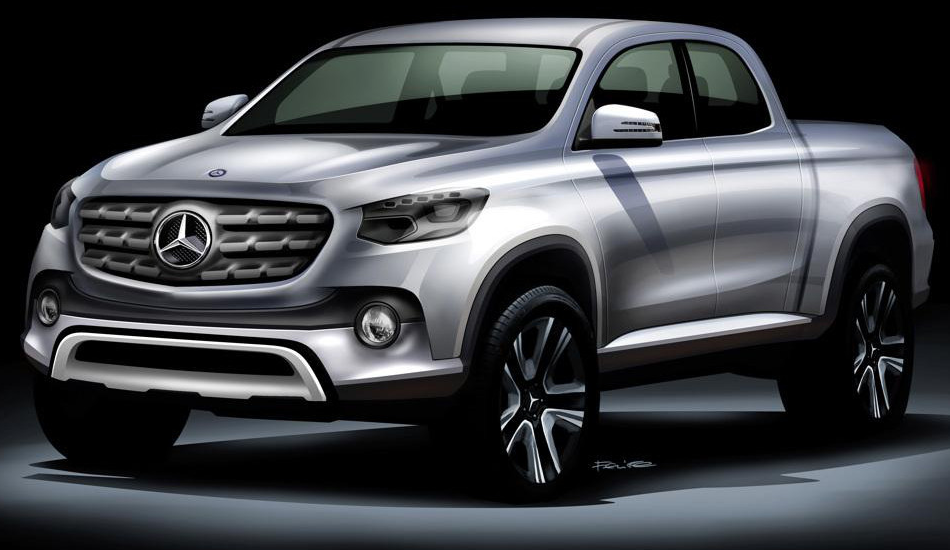 La pick-up de Mercedes-Benz se llamará Clase X