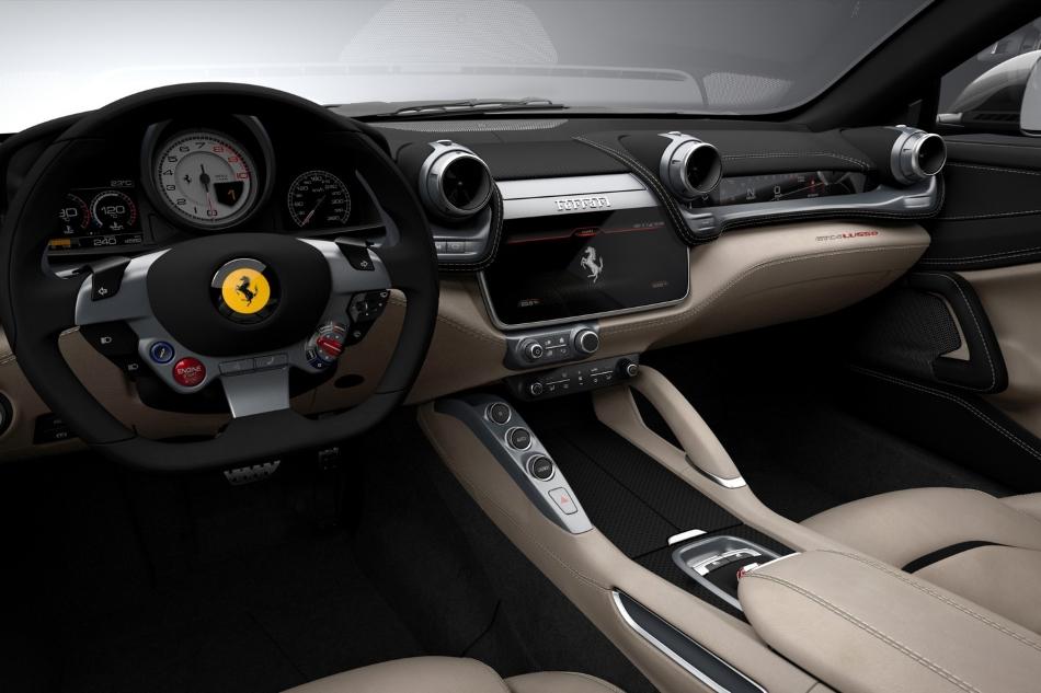 Ferrari GTC4Lusso, el sucesor del FF llega con 690 CV y dirección en las cuatro ruedas