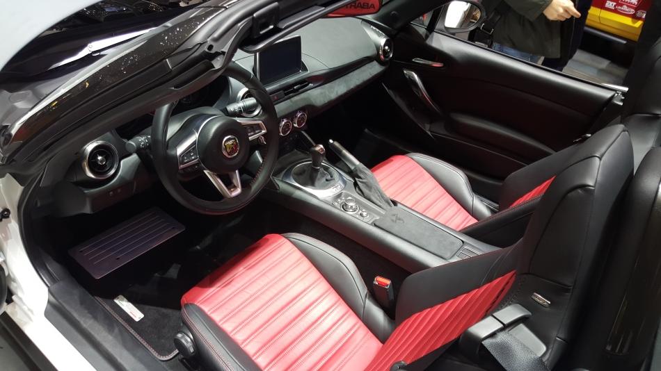 Los nuevos Abarth y FIAT 124 Spider se presentan en el Salón de Ginebra