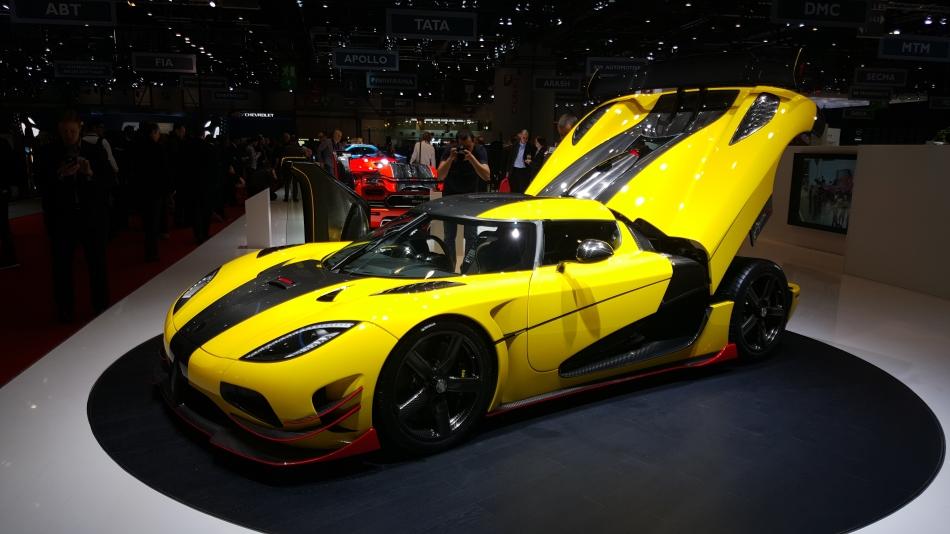 Los superdeportivos más brutales del Salón del Automóvil de Ginebra