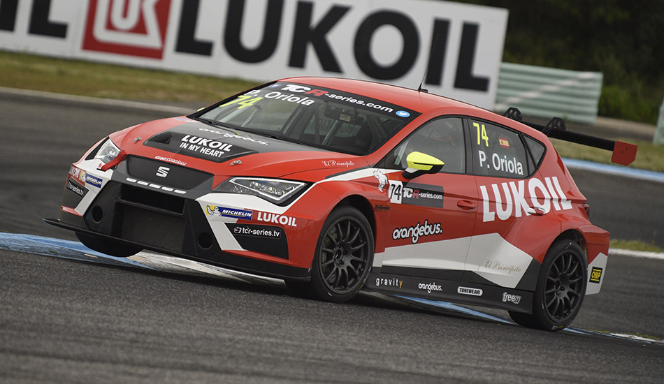 Mat'o Homola consigue su primera pole en las TCR en Estoril