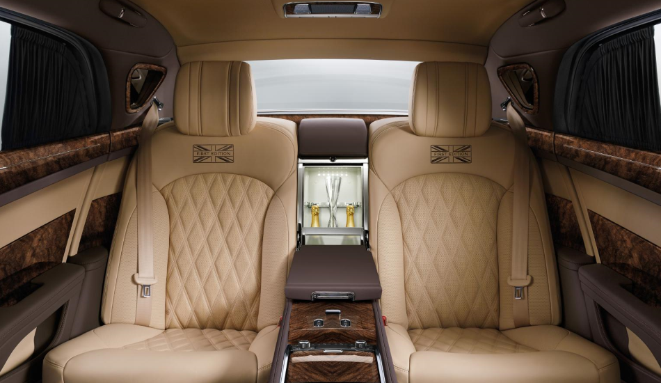 Nuevo Bentley Mulsanne First Edition, limitado a 50 unidades