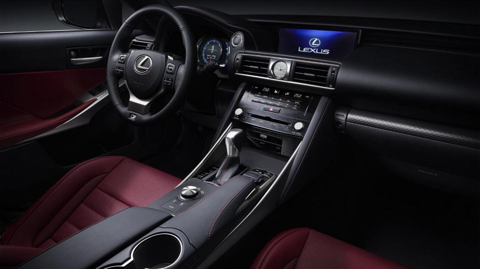 Lexus presenta en Pekín 2016 el restyling del IS