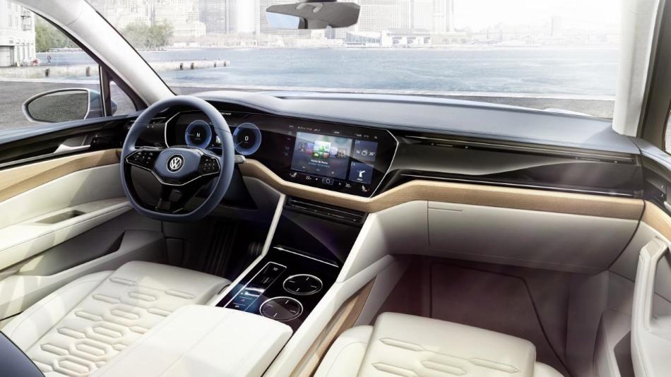 Volkswagen nos adelanta el futuro Touareg con el T-Prime Concept GTE