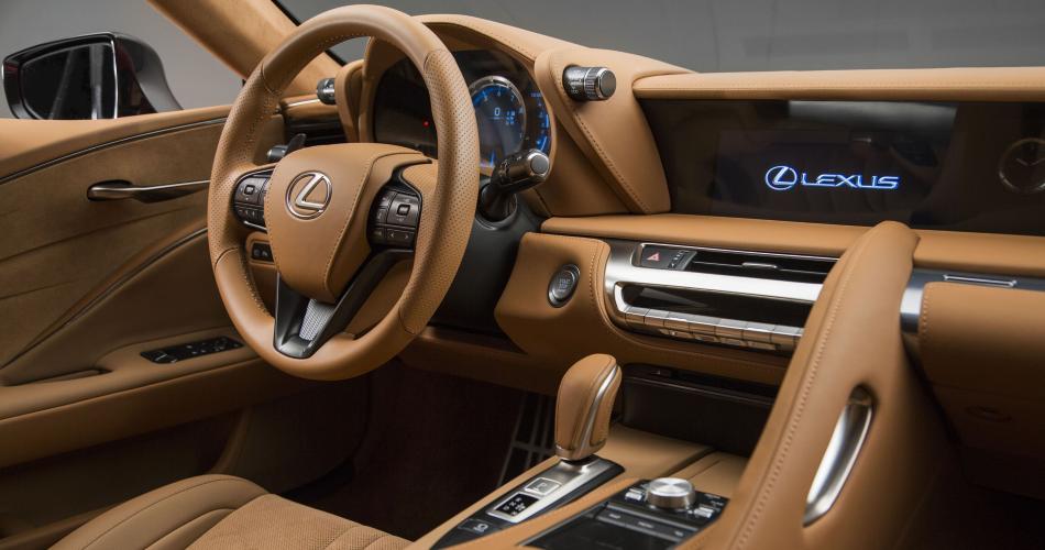 Lexus llevará al Salón de Madrid el nuevo LC 500