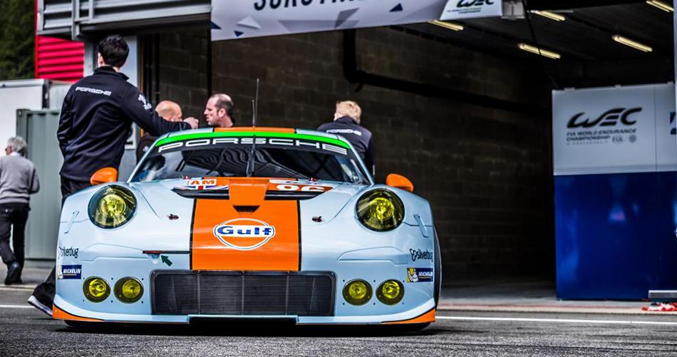 Porsche comienza mandando tras el FP1 en Bélgica