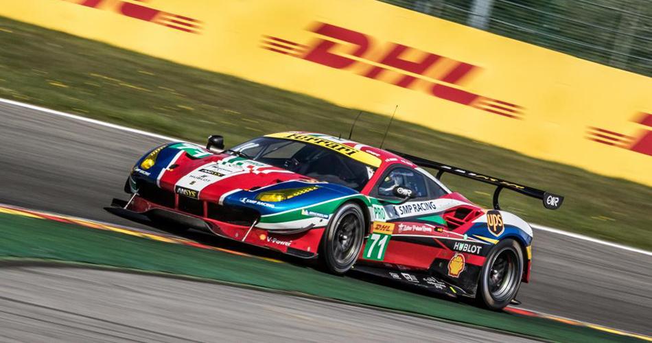 Audi gana bajo el caos en Spa y Roberto Merhi sube al podio