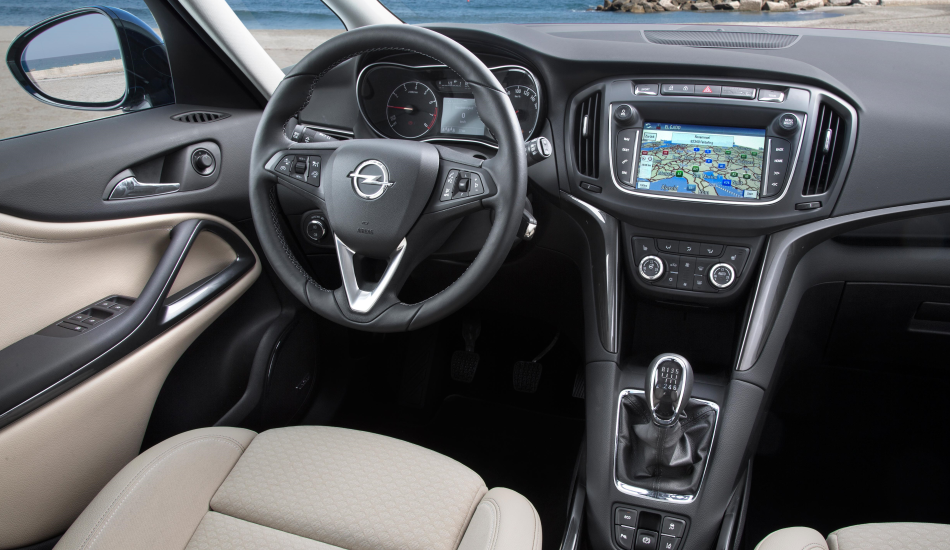 Opel presenta el restyling del Zafira 2017