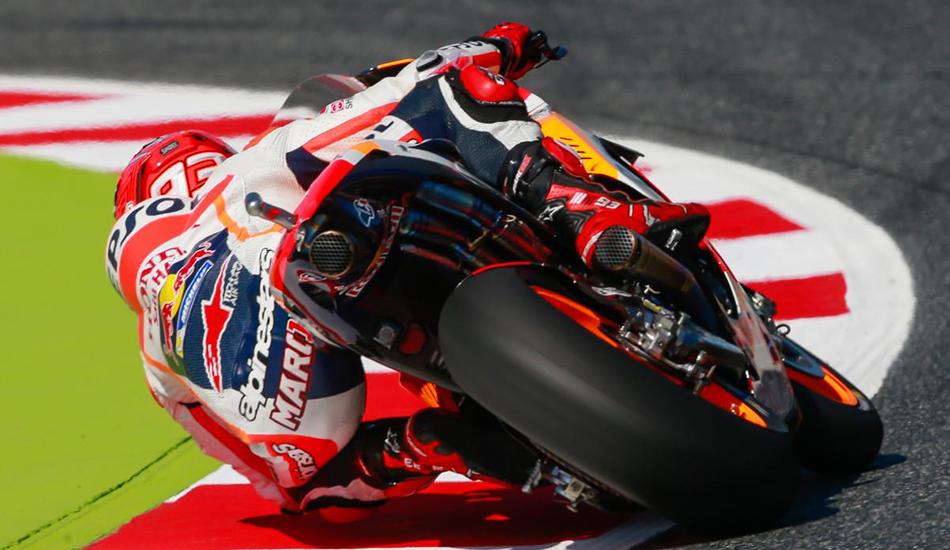 MotoGP: Marc Márquez domina la jornada del sábado