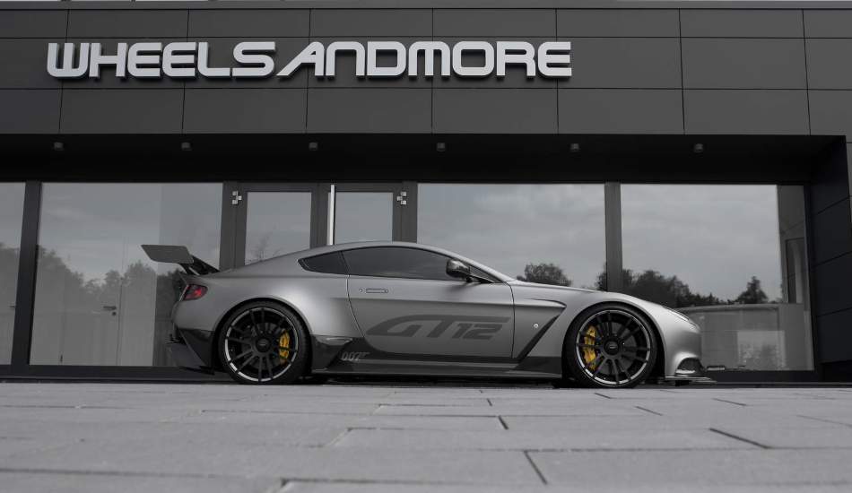 Wheelsandmore pone a punto una de las cien unidades del Aston Martin GT12