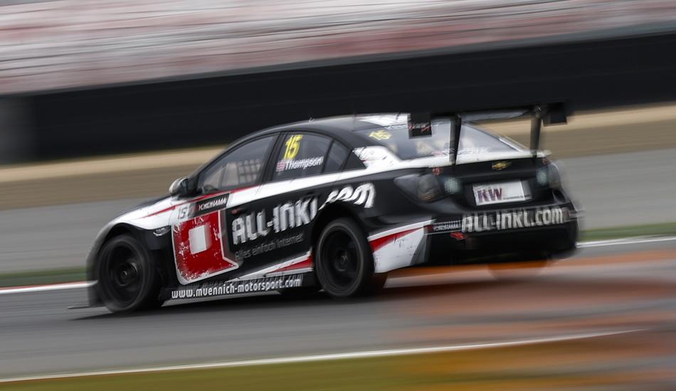 Tiago Monteiro el más rápido bajo la lluvia en los segundos libres