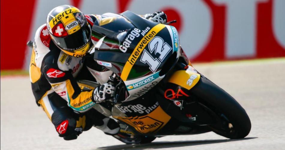 Moto2: Thomas Luthi el más rápido, todavía...