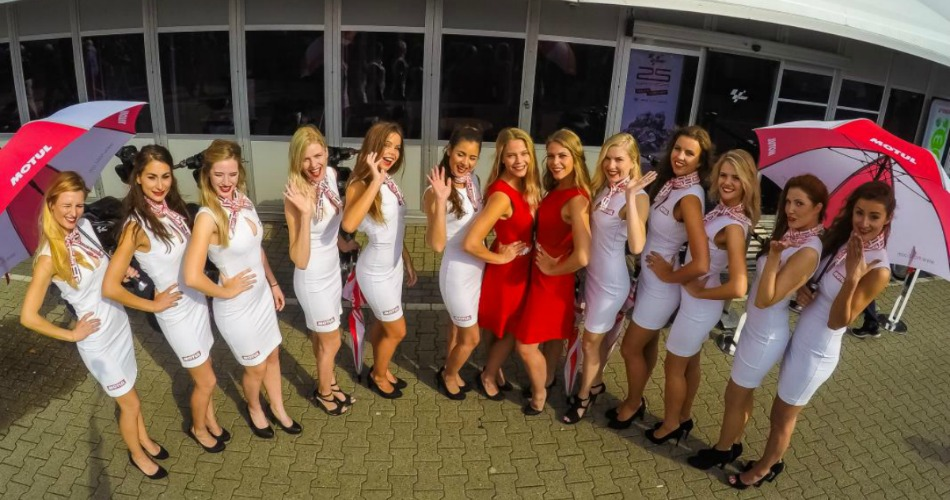 Paddock Girls del Gran Premio de Holanda 2016