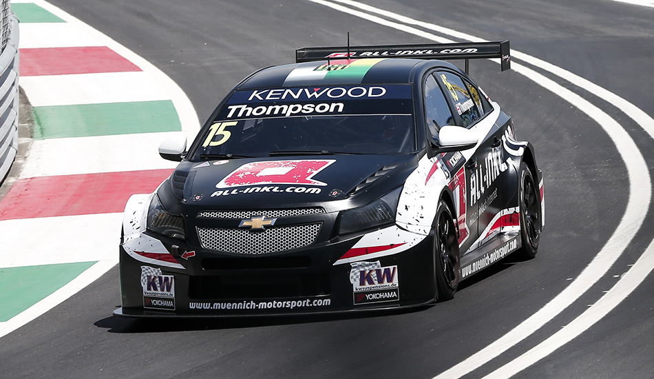 James Thompson estará en Termas con Münnich Motorsport