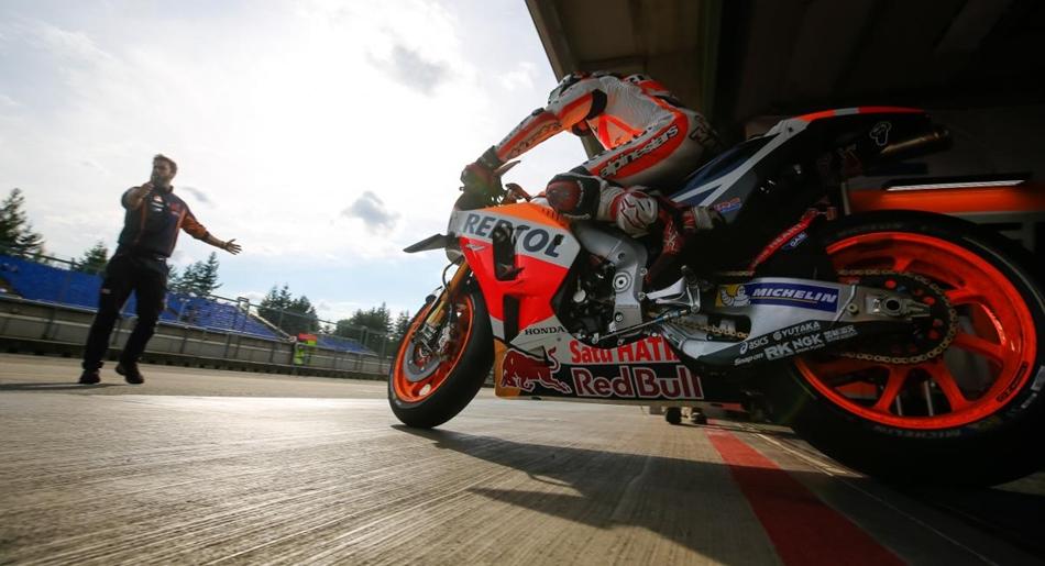 Las Yamaha dominan el test de MotoGP en Brno