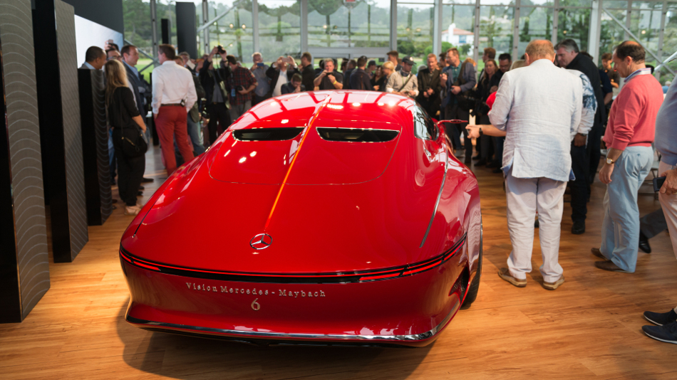 Llegó el Vision Mercedes Maybach 6